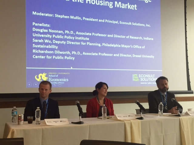 Climate and housing market panel